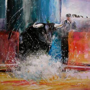 bullfightcorridapainting011